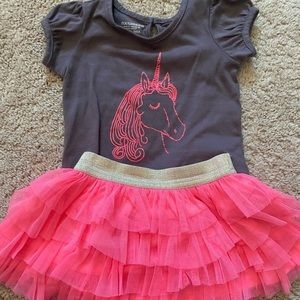 12 month unicorn outfit